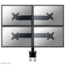 """Newstar FPMA-D700D4 30"""" Zwart flat panel bureau steun"""