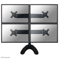 """Newstar FPMA-D700DD4 30"""" Zwart flat panel bureau steun"""