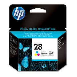HP 28 originele drie-kleuren inktcartridge