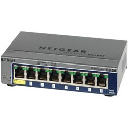 Netgear ProSAFE Smart Switch - GS108T - 8 Gigabit Ethernet