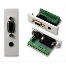 Vision TC2 VGAF3.5MM D-sub/3.5 mm Wit kabel-connector