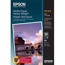Epson Matte Paper Heavy Weight, DIN A4, 167g/m², 50 Vel