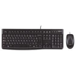 Logitech MK120 toetsenbord USB AZERTY Belgisch Zwart