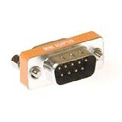 Intronics D-sub null modem adapter 9-polig female - 9-polig male