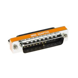 Intronics D-sub null modem adapter 25-polig female 25-polig male (AB9843)
