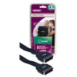 Eminent Scart Cable 1.5m 1.5m SCART (21-pin) SCART (21-pin)