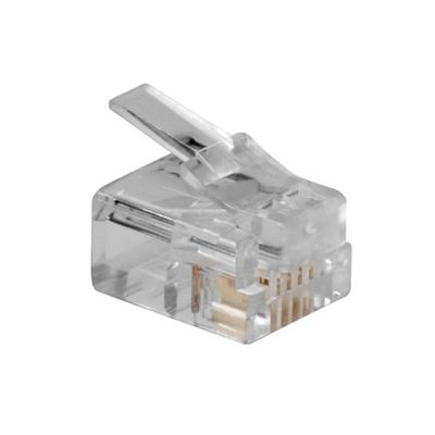 ACT TD104M kabel-connector RJ-11 (6P/4C) Transparant