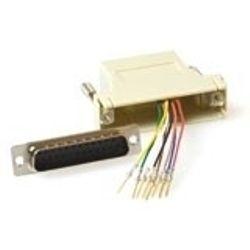 ACT Monteerbare heavy duty verloop adapter D-sub 25-polig - modulair