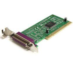 StarTech.com 1 Parallelle Poort Low Profile PCI Adapterkaart interfacekaart/-adapter