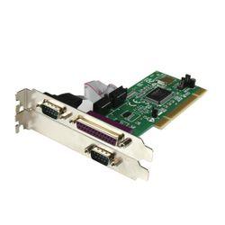 StarTech.com 2S1P PCI Seriële Parallele Combokaart met 16550 UART interfacekaart/-adapter