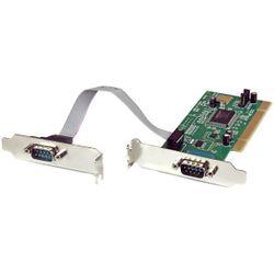 StarTech.com 2-poort PCI Low Profile RS232 Seriële Adapter-kaart met 16550 UART