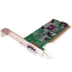 StarTech.com 1-poort eSATA + 1-poort SATA PCI SATA Controller-kaart met LP-bracket interfacekaart/-adapter