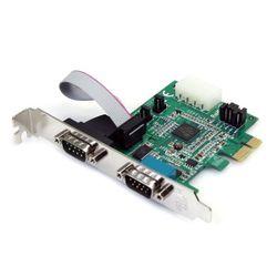 StarTech.com 2-poort Native PCI Express RS232 Seriële Adapterkaart met 16950 UART