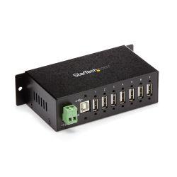 StarTech.com Monteerbare robuuste industriële 7-poort USB-hub