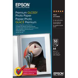 Epson Premium Glossy Photo Paper, DIN A4, 255g/m², 50 Vel
