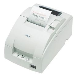 Epson TM-U220D, RS232, wit bonprinter , dot-matrix printen, mediabreedte (max): 76 mm, snelheid(max): 6lps, RS232, ESC/POS, incl
