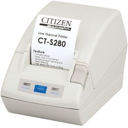 Citizen CT-S280 Direct thermisch POS printer 203 x 203DPI