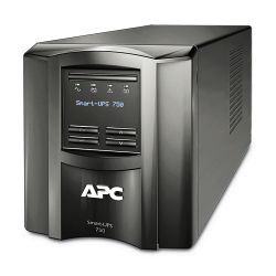 APC Smart-UPS 750 LCD UPS 230V 500 Watt 750 VA RS-232, USB 6 Output Connectors-SMT750I
