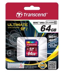Transcend TS64GSDXC10