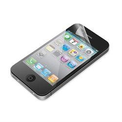Belkin ClearScreen Overlay. Soort apparaat: Mobiele telefoon/Smartphone, Compatibiliteit: iPhone 4<b>Zichtbare bescherming</b><b