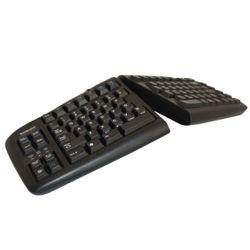 BakkerElkhuizen Goldtouch Adjustable V2 USB + PS/2 QWERTY Engels Zwart