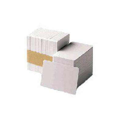 Zebra Premier PVC Card, 30 mil Low Coercivity Mag. Stripe (5