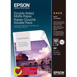 Epson Double-Sided Matte Paper - A4 - 50 Vellen pak