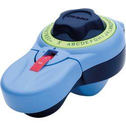 DYMO Prägegerät Junior blau/grün ideal für