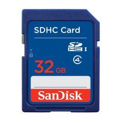 Sandisk Standard SDHC Card 32GB SDHC flashgeheugen