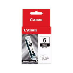 Canon BCI-6 BK Zwart inktcartridge