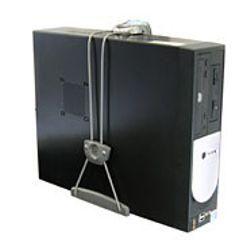 Ergotron Universal CPU Holder Desk-mounted CPU holder Grijs