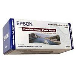 Epson Premium Glossy Photo Paper Roll, 210 mm x 10 m