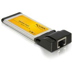 DeLOCK Gigabit Ethernet ExpressCard Adapter 1000Mbit/s