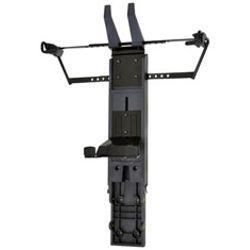 Ergotron NF Cart Vertical Laptop Kit flat panel plafond steun Zwart