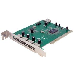 StarTech.com 7-poort PCI USB Adapter interfacekaart/-adapter