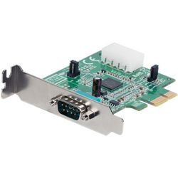 StarTech.com 1-poorts low-profile native PCI Express seriële kaart met 16950