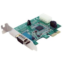 StarTech.com 1-poorts low-profile native PCI Express seriële kaart met 16950
