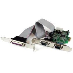 StarTech.com 2S1P Native PCI Express Parallele Seriële Combokaart met 16550 UART interfacekaart/-adapter