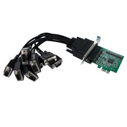 StarTech.com 8-poort Native PCI Express RS232 Seriële Kaart met 16950 UART interfacekaart/-adapter
