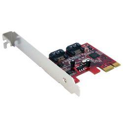 StarTech.com 2-poort SATA 6 Gbit/s PCI Express SATA Controllerkaart interfacekaart/-adapter