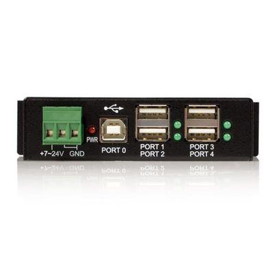 StarTech.com Monteerbare 4-poort Robuuste Industriële USB Hub