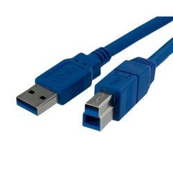 StarTech.com USB3SAB10 USB-kabel 3,05 m USB A USB B Blauw