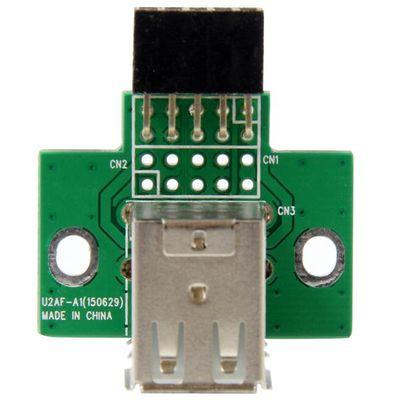 StarTech.com 2-poorts USB moederbord header adapter