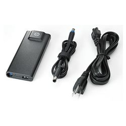 HP 90W Slim Adapter netvoeding & inverter Binnen Zwart