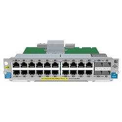 HPE 20-port Gig-T / 2-port 10GbE SFP+ v2 Gigabit Ethernet network switch module