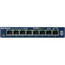 Netgear ProSAFE Unmanaged Switch - GS108GE - Desktop - 8