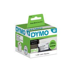 DYMO S0929100 printeretiket Wit Niet-klevend printerlabel