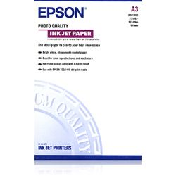 Epson Photo Quality Ink Jet Paper, DIN A3, 104g/m², 100 Vel