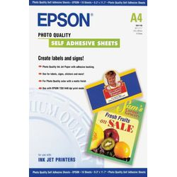 Epson Photo Quality Ink Jet Paper self-adhesive, DIN A4