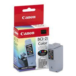 Canon BCI-21 Cyaan, Magenta, Geel inktcartridge